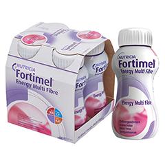 FORTIMEL Energy Multi Fibre Erdbeergeschmack 4x200 Milliliter