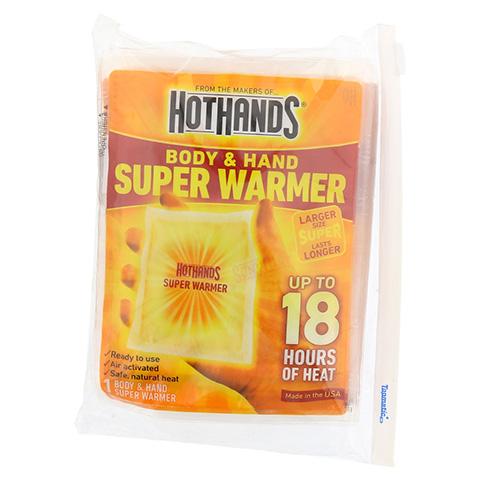 W�RMEKISSEN 18h Body&Hand Super Warmer 1x6 St�ck