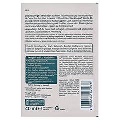 KNEIPP verwöhnendes Creme-Öl-Peeling 40 Milliliter - Rückseite