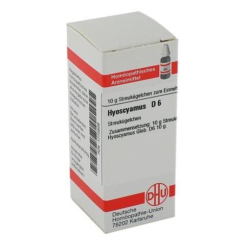 HYOSCYAMUS D 6 Globuli 10 Gramm N1
