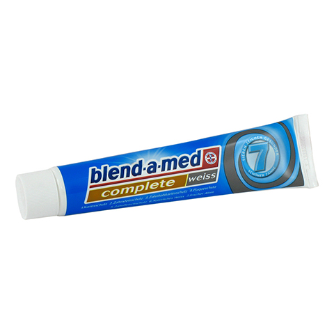BLEND A MED Complete plus wei� Zahncreme 75 Milliliter