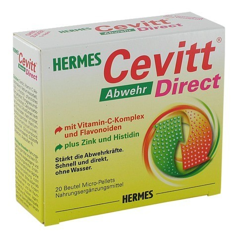 hermes cevitt abwehr direct pellets 20 st ck online bestellen medpex versandapotheke. Black Bedroom Furniture Sets. Home Design Ideas