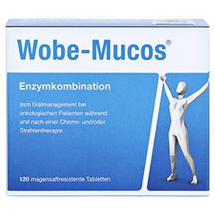 WOBE-MUCOS magensaftresistente Tabletten 120 St�ck - Vorderseite
