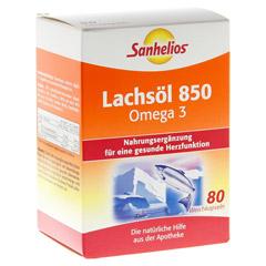 SANHELIOS Lachsöl 850 Omega-3 Kapseln 80 Stück