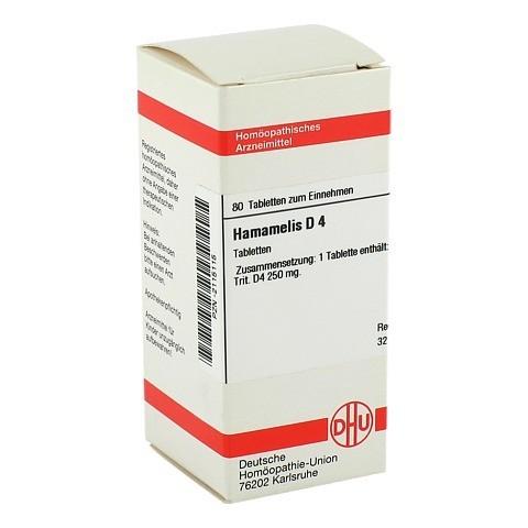 HAMAMELIS D 4 Tabletten 80 St�ck N1
