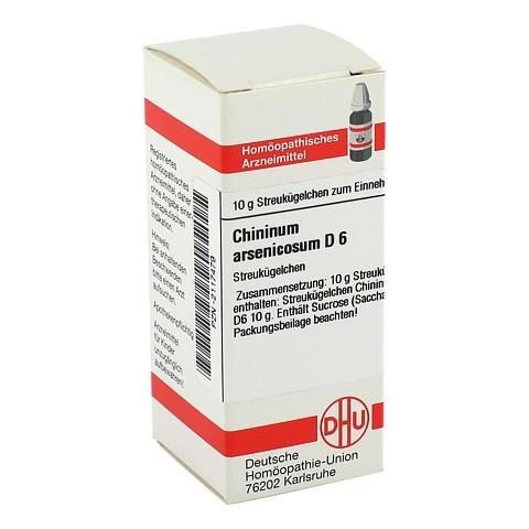 CHININUM ARSENICOSUM D 6 Globuli 10 Gramm N1