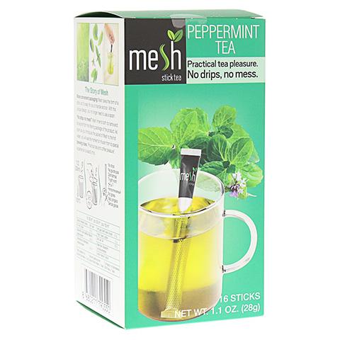 MESH stick Pfefferminz Tee 16 Stück