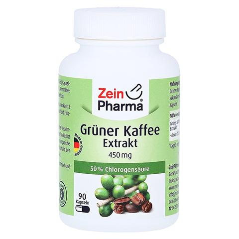 GRÜNER KAFFEE Extrakt 450 mg Kapseln 90 Stück