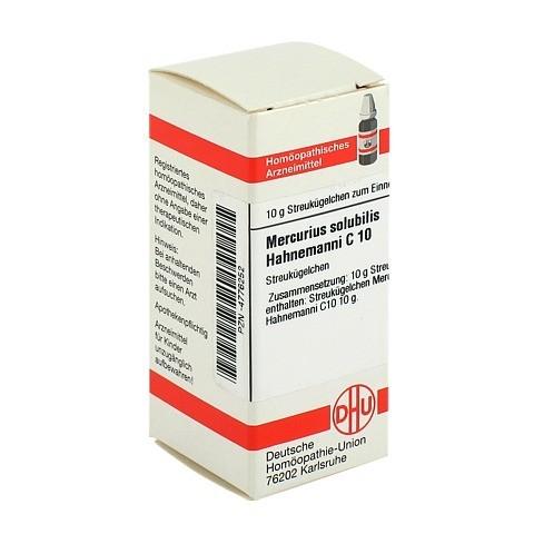 MERCURIUS SOLUBILIS C 10 Globuli Hahnemanni 10 Gramm N1