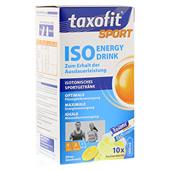 TAXOFIT Sport Iso Energy Drink Zitrus Portionsbtl. 10 St�ck