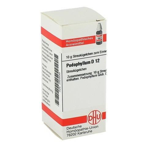 PODOPHYLLUM D 12 Globuli 10 Gramm N1