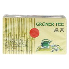 GRÜNER TEE Filterbeutel 20 Stück - Vorderseite