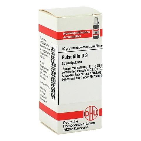 PULSATILLA D 3 Globuli 10 Gramm N1
