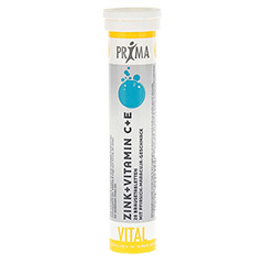 PRIMA VITAL Zink+Vitamin C+E Brausetabletten 20 St�ck
