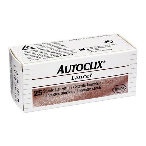 AUTOCLIX LANCET 1x25 St�ck