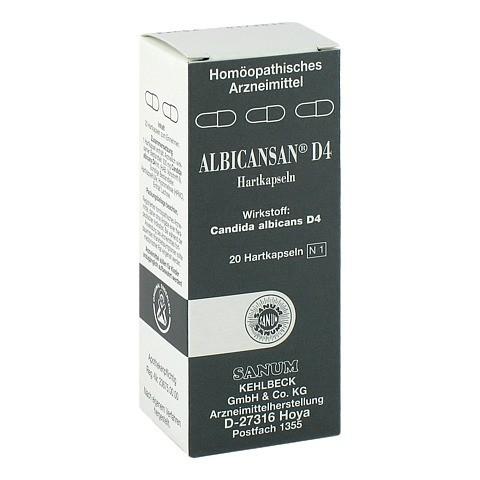 ALBICANSAN D 4 Kapseln 20 St�ck N1