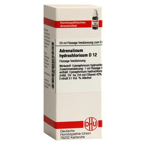 ADRENALINUM HYDROCHLORICUM D 12 Dilution 20 Milliliter N1