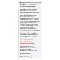 Gurgellösung-ratiopharm 200 Milliliter - Linke Seite