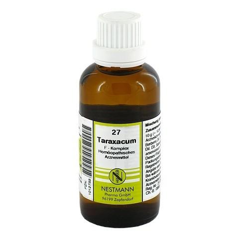 TARAXACUM F Komplex 27 Dilution 50 Milliliter N1