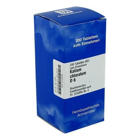 BIOCHEMIE 4 Kalium chloratum D 6 Tabletten 200 Stück N2