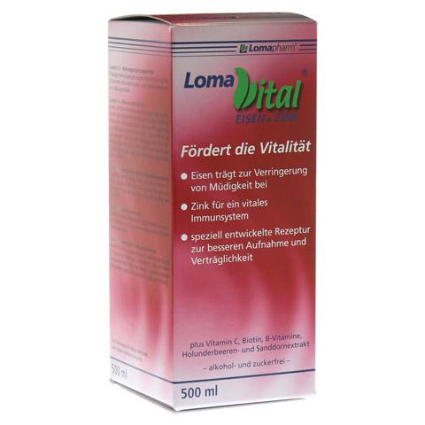 LOMAVITAL Eisen+Zink fl�ssig 500 Milliliter