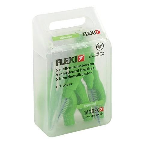 TANDEX FLEXI Interdental Bürsten 1,0 mm grün 6 Stück