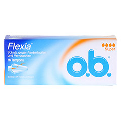 O.B. Tampons Flexia super 16 St�ck - Vorderseite