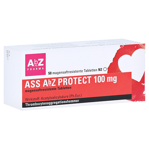 ASS AbZ PROTECT 100mg 50 St�ck N2