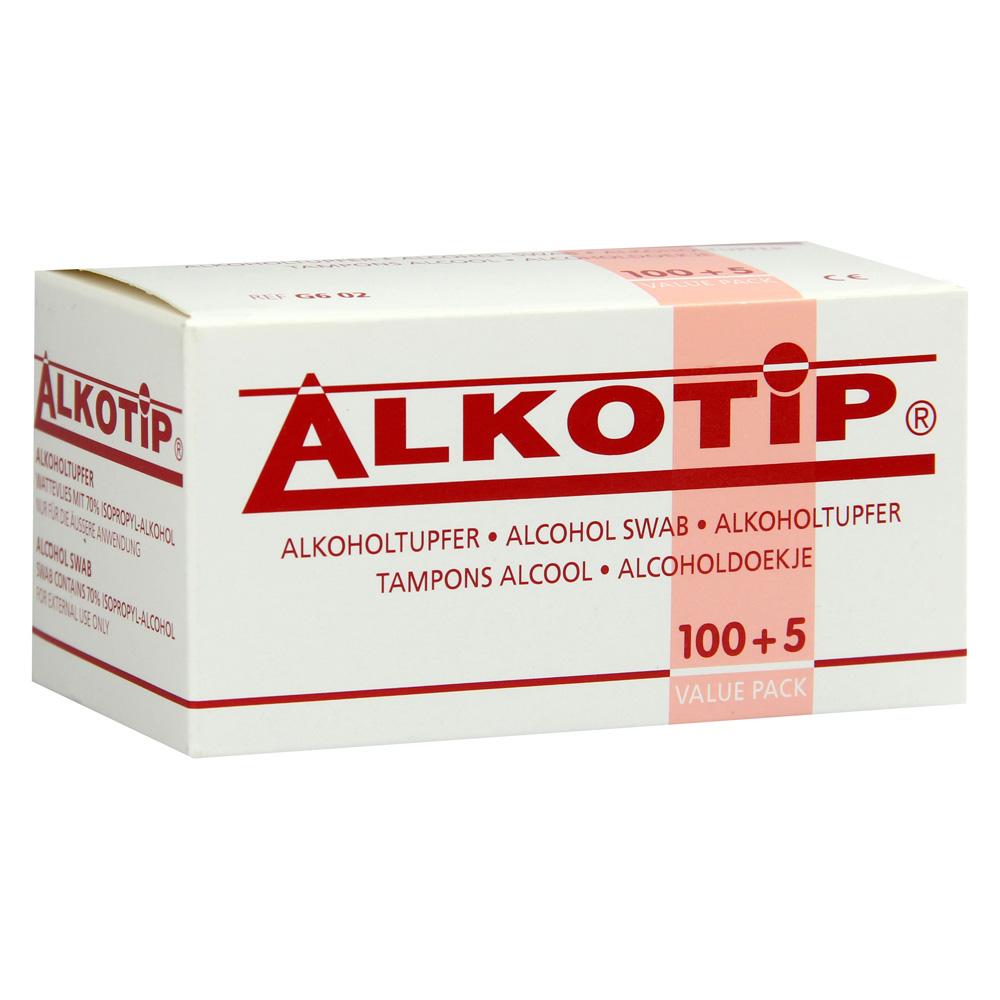 alko tip alkoholtupfer 100 st ck online bestellen medpex. Black Bedroom Furniture Sets. Home Design Ideas