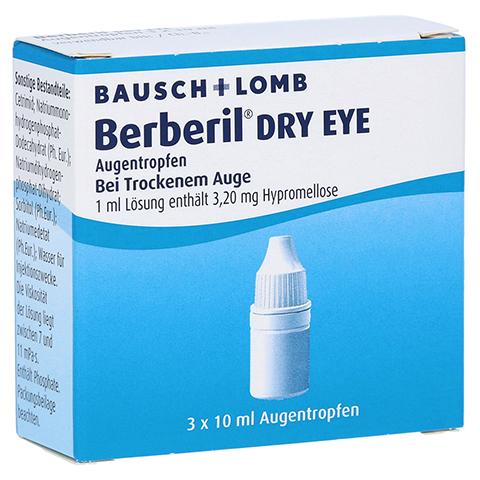BERBERIL Dry Eye Augentropfen 3x10 Milliliter