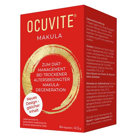 OCUVITE Makula Kapseln 84 Stück