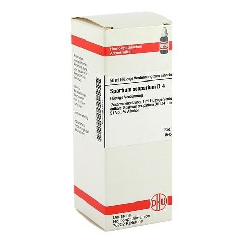 SPARTIUM SCOPARIUM D 4 Dilution 50 Milliliter N1