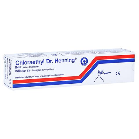 CHLORAETHYL Dr. Henning Hebelverschluss 100 Milliliter