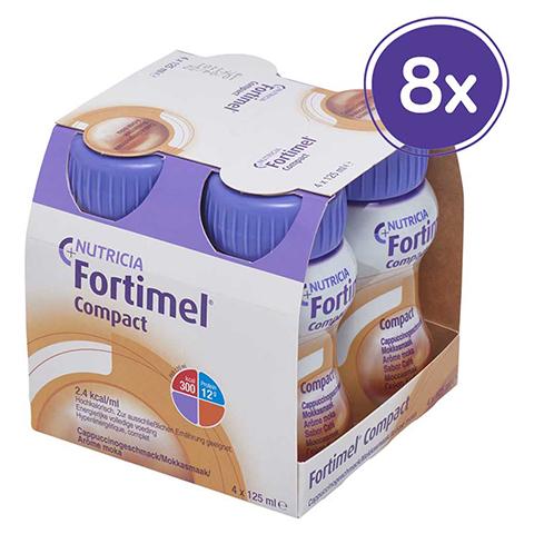 FORTIMEL Compact 2.4 Cappuccinogeschmack 8x4x125 Milliliter