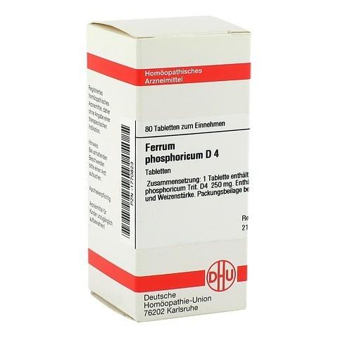 FERRUM PHOSPHORICUM D 4 Tabletten 80 Stück N1