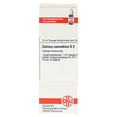 DATISCA cannabina D 2 Dilution 20 Milliliter N1 - Vorderseite