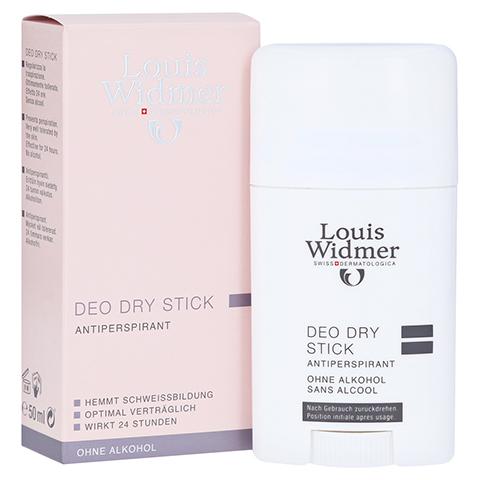WIDMER Deo Dry Stick leicht parfümiert 50 Milliliter