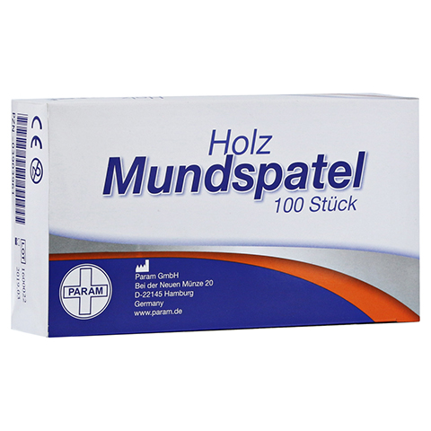 MUNDSPATEL Holz Karton 100 St�ck