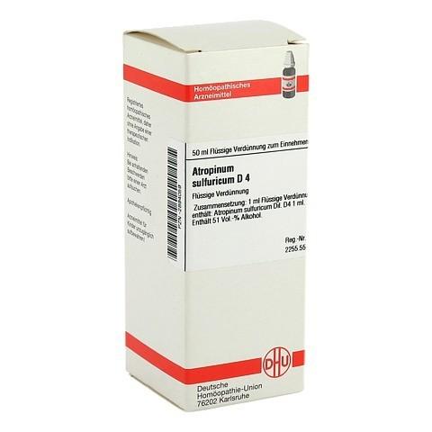 ATROPINUM SULFURICUM D 4 Dilution 50 Milliliter N1