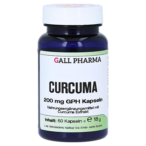 CURCUMA 200 mg Kapseln 60 Stück