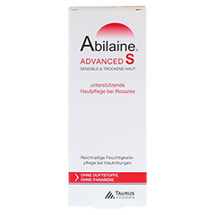 ABILAINE ADVANCED S Creme 30 Milliliter - Rückseite