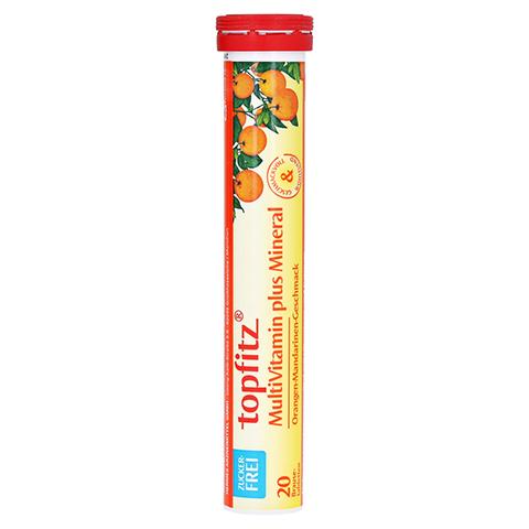 TOPFITZ Multivitamin+Mineral Brausetabletten 20 St�ck