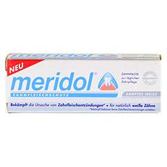 MERIDOL sanftes Weiss Zahnpasta 20 Milliliter - Vorderseite