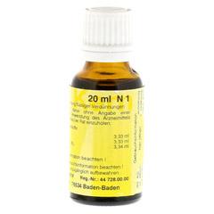 MERIDIANKOMPLEX 4 Tropfen zum Einnehmen 20 Milliliter N1 - Linke Seite