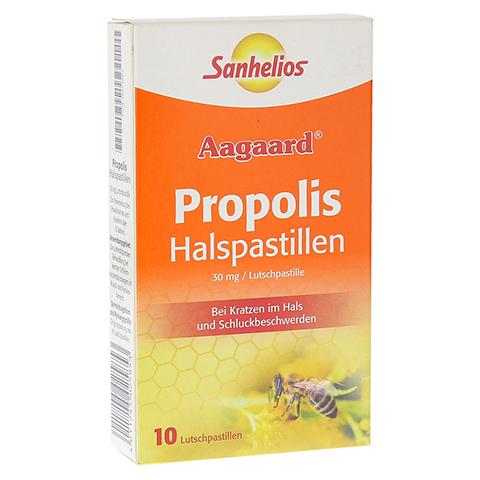 SANHELIOS Propolis Halspastillen 10 St�ck