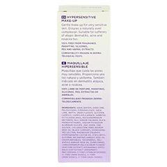 DADO Hypersensitives Make-up almond 02k 30 Milliliter - Rückseite