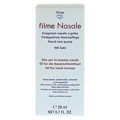 FILME Nasale Nasenöl 20 Milliliter - Vorderseite