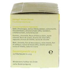 SIDROGA Wellness heiße Zitrone Filterbeutel 20 Stück - Rechte Seite