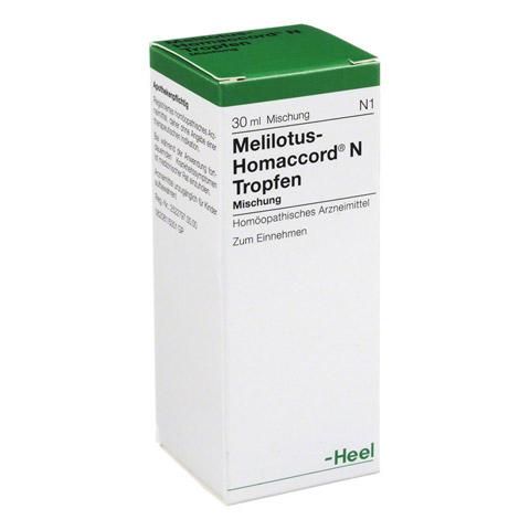 MELILOTUS HOMACCORD N Tropfen 30 Milliliter N1
