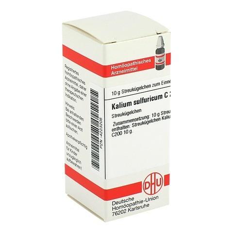 KALIUM SULFURICUM C 200 Globuli 10 Gramm N1
